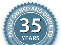 Family owned and opperated for 35 years!